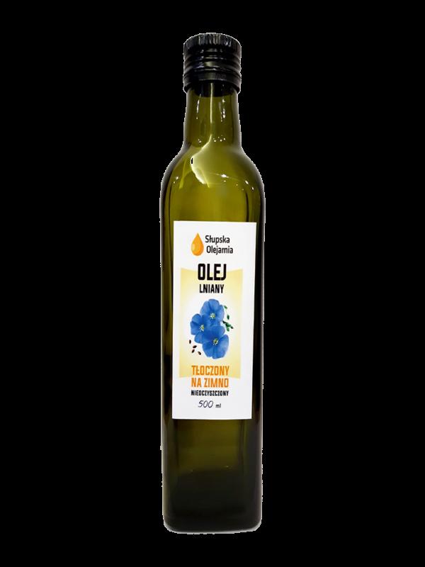 Olej lniany a 500 ml