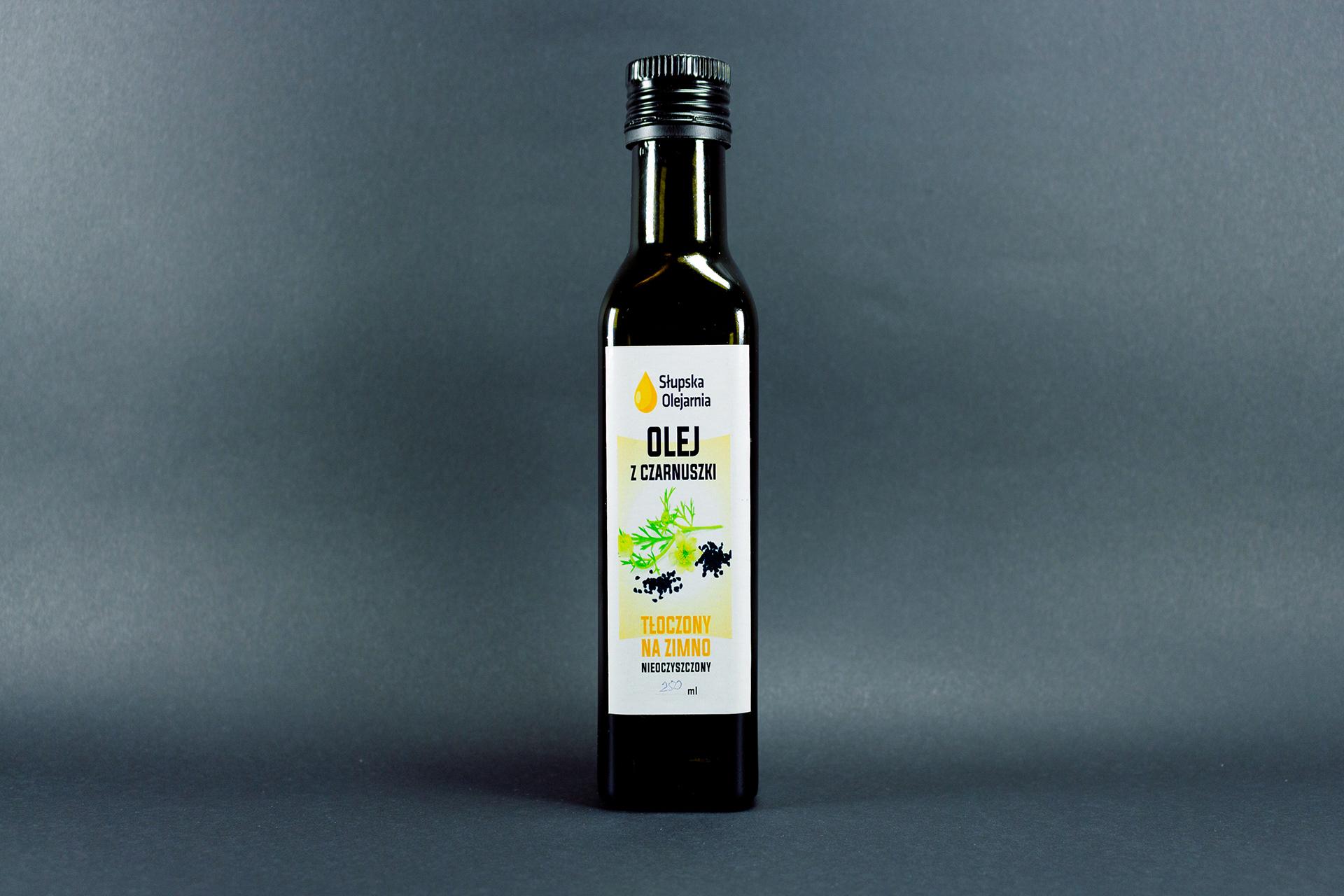 Olej roślinny z czarnuszki a 250 ml